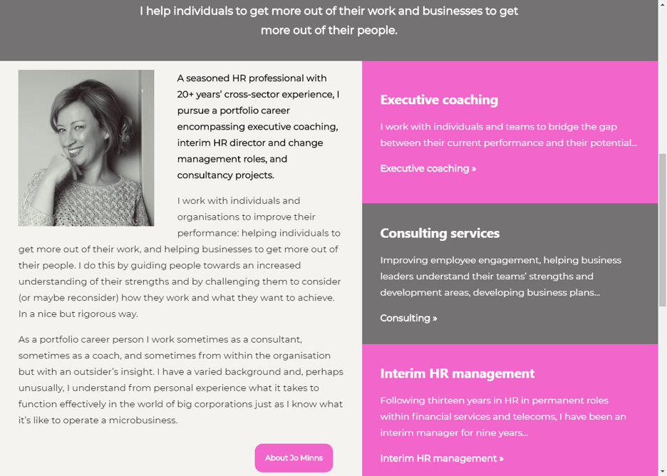Jo Minns Consulting